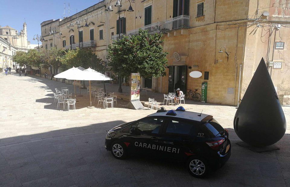 Matera: nei rioni dei Sassi i carabinieri intensificano i controlli