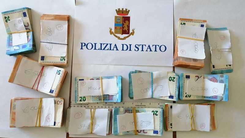 """La Polizia di Matera sequestra soldi nell'ambito dell'operazione """"Paride"""""""