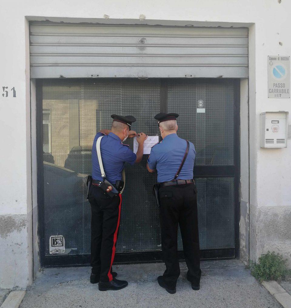 Matera: scoperta officina meccanica abusiva. I Carabinieri denunciano un 49enne