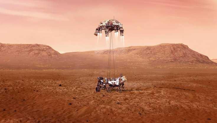 Perseverance è arrivato su Marte. La missione Mars 2020 della Nasa è ammartata sul Pianeta rosso (Video)