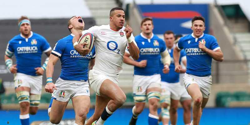 Seconda giornata del Sei Nazioni. L'Italia di rugby è stata battuta 41 a 18 dall'Inghilterra