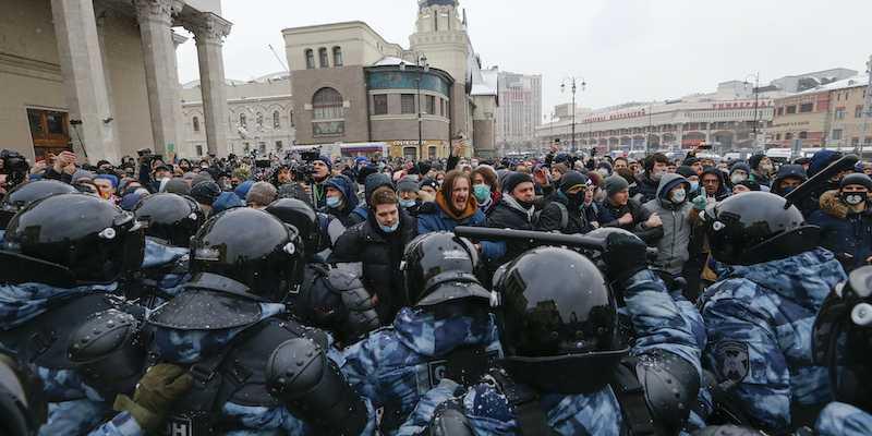 Non si placano le proteste contro Putin in Russia