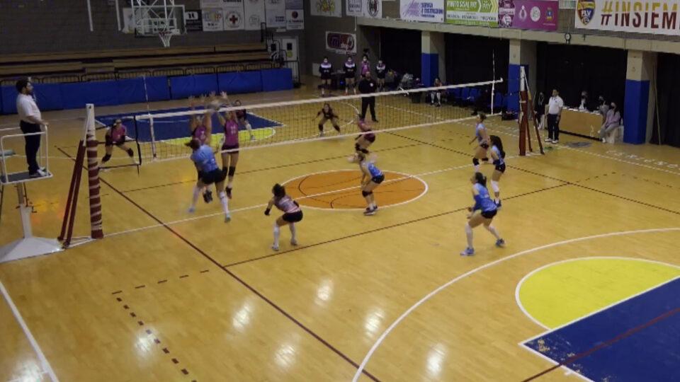 Volley. Brio Lingerie Cerignola-PM Asci Potenza: 1 a 3