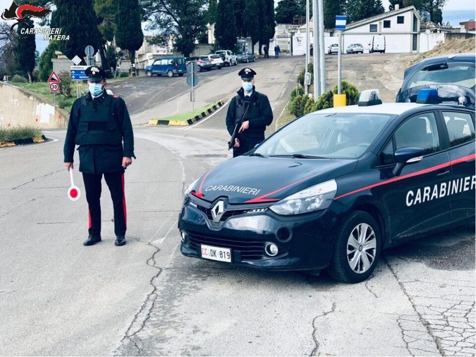 Montescaglioso: lotta ai furti nelle aziende agricole. I Carabinieri denunciano 29enne