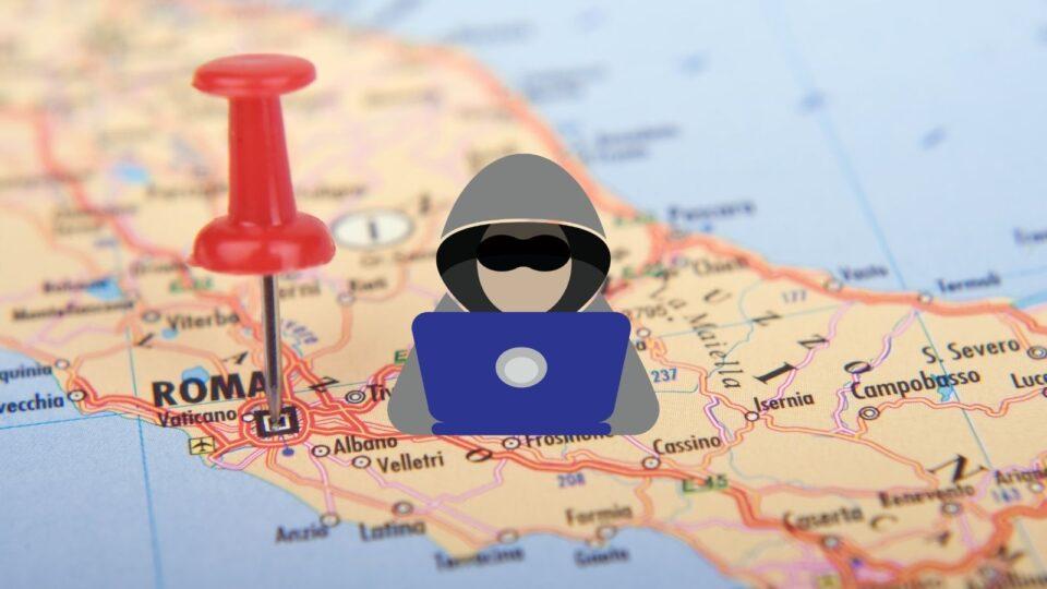 Attacco hacker al sito della Regione Lazio
