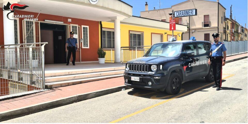Grassano (MT): Carabinieri sequestrano 2.000 kg di materiale di risulta