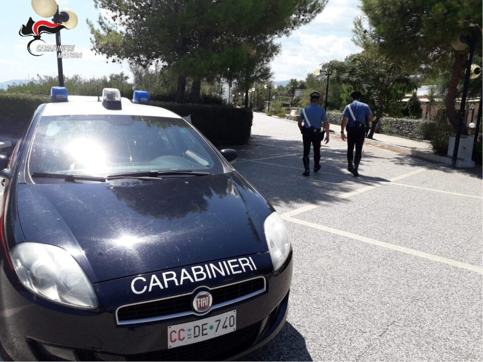 Policoro (MT): borsaiolo arrestato dai Carabinieri