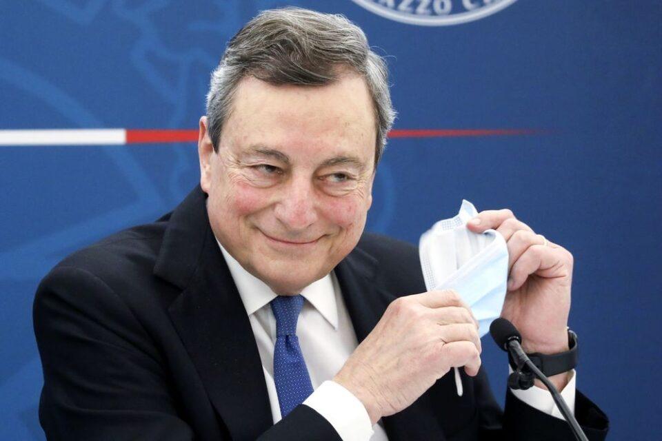 Sono Draghi, Mario Draghi. Il più bravo