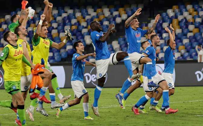 Calcio, serie A. Napoli-Cagliari: 2 a 0