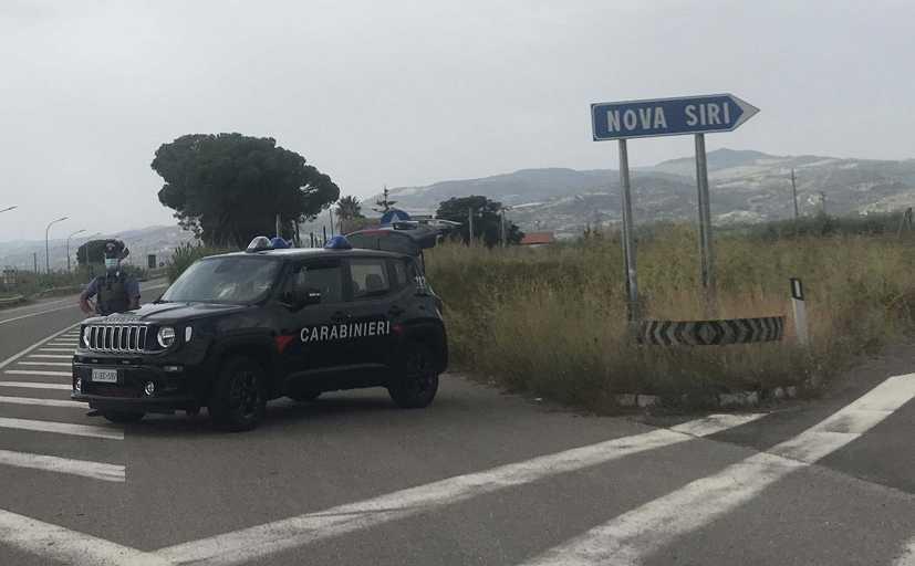 Nova Siri (MT): I Carabinieri arrestano 23enne del posto