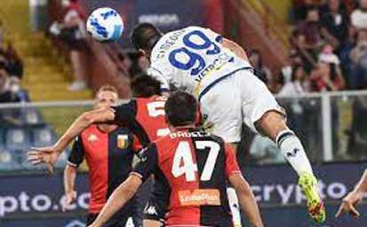 Calcio. Serie A. Genoa-Verona: 3 a 3