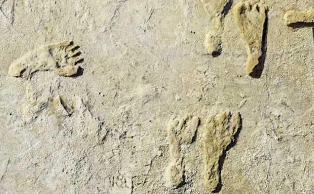 Nel New Messico le più antiche impronte umane in America