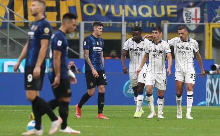 Calcio, serie A. Al San Siro Inter e Atalanta: 2 a 2