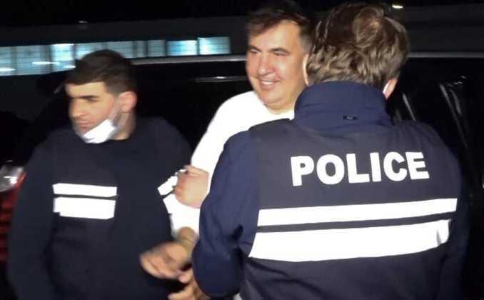 Arrestato l'ex presidente georgiano Mikheil Saakashvili