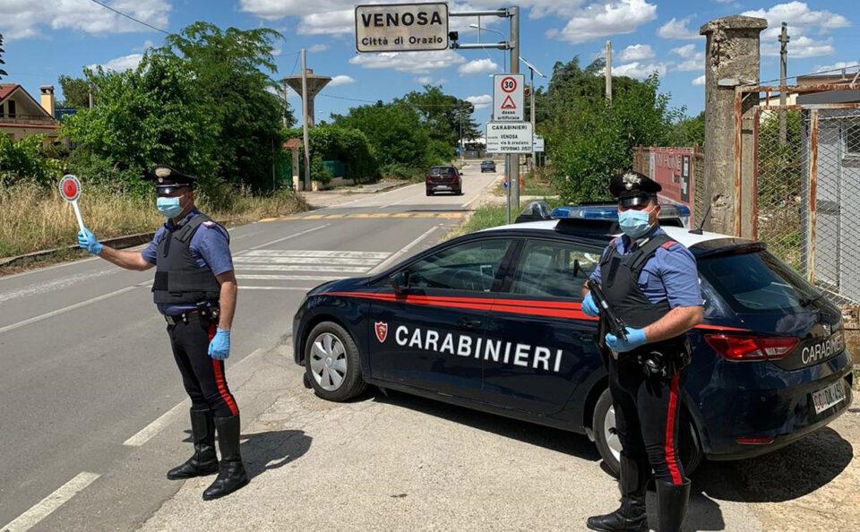Venosa (PZ). Carabinieri arrestano 48enne per furto aggravato