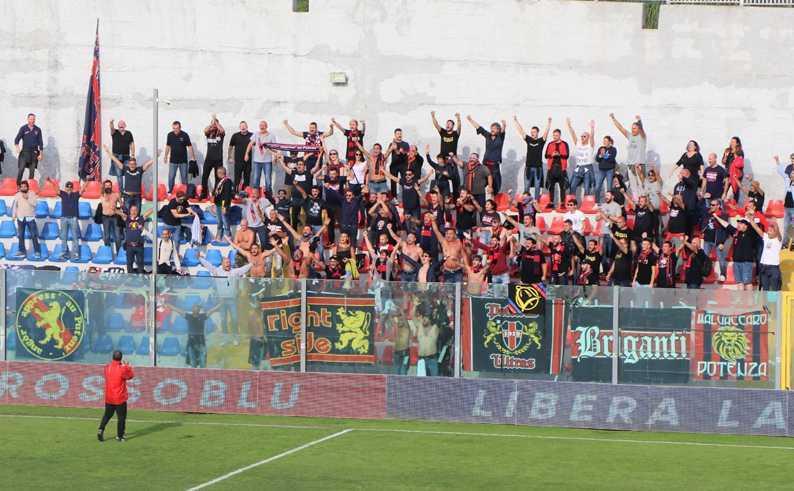 """Serie C. Vibonese-Potenza 1-1: un pareggio """"nervoso"""" per i lucani"""